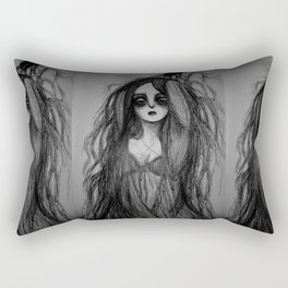 Hairy Witch Rectangular Pillow