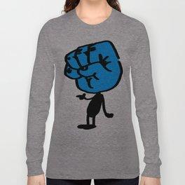 Blue Bumpitt Long Sleeve T-shirt