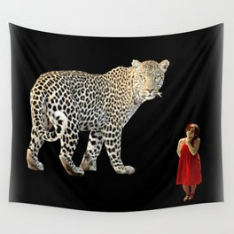 A Queen May Look At A King Wall Tapestry