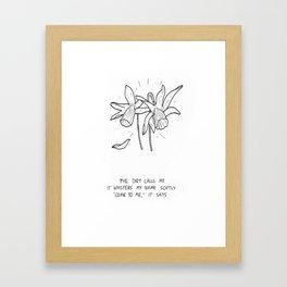 Haiku #3 Framed Art Print