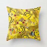 sister Throw Pillows featuring Sister by J Ross