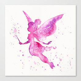 Off With The Fairies Canvas Print