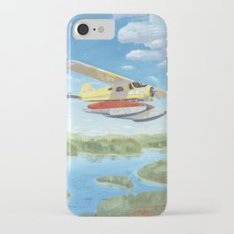 float plane - by phil art guy iPhone Case
