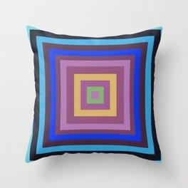 Geometric Stylish  Art Squares Design for Fine Homes Decoration. Throw Pillow
