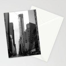 manhattan street Stationery Cards