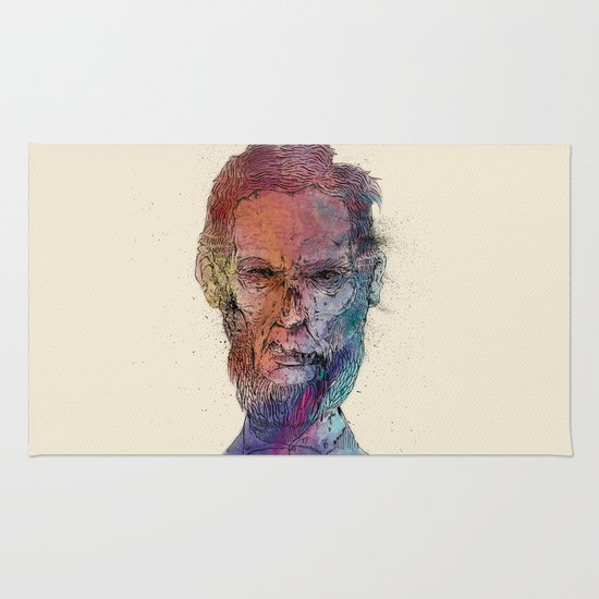 Zombie Lincoln Rug