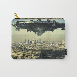The alien ship over the Los Angeles Carry-All Pouch