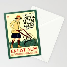Join the US School Garden Army Stationery Cards