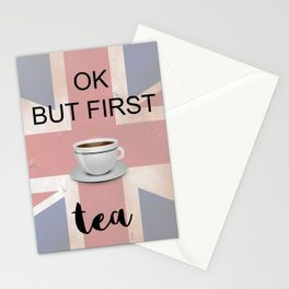 Ok But First TEA - iPhone/iPod Case Stationery Cards