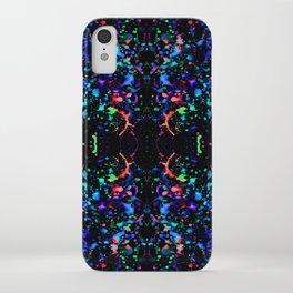 Night Splatter Neon Lights iPhone Case