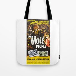The Mole People, vintage horror movie poster Tote Bag