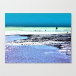 Clam Digger Canvas Print