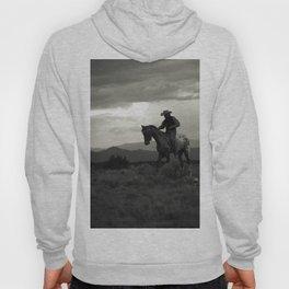 Santa Fe Cowboy on Horse Hoody