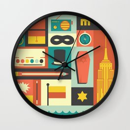 The Amazing Adventures of Kavalier and Clay Wall Clock