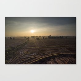 Chiang Mai Landscape Canvas Print