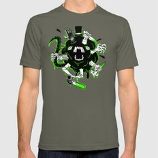 Monster Rumble! Lieutenant LARGE Mens Fitted Tee