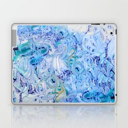 Marble Sky Laptop & iPad Skin