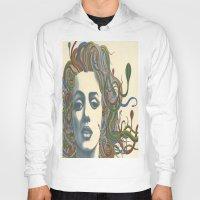 marylin monroe Hoodies featuring Medusa Monroe  by Ty McKie Creations