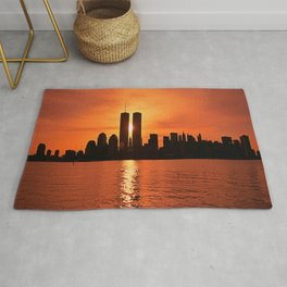 Twin Towers Summer Sky Rug