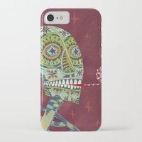 happy birthday iPhone & iPod Cases featuring Happy Birthday by Santiago Uceda