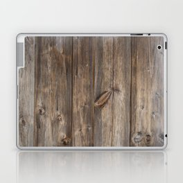 Wood texture - wooden background 2 Laptop & iPad Skin