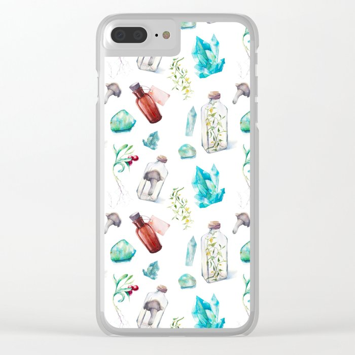 Witch's Kitchen Clear iPhone Case