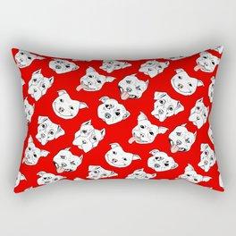 Pittie Pittie Please! Rectangular Pillow