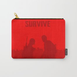 Minimalist Ellie and Joel ( The last of us ) Carry-All Pouch