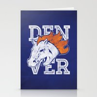 denver Stationery Cards featuring Denver by d.bjorn