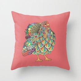 Dream Chicken Throw Pillow