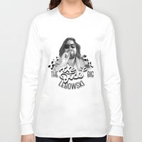 big lebowski Long Sleeve T-shirts featuring The Big Lebowski by KevinART