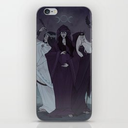 Triple Goddess iPhone Skin
