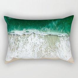 miami beach aerial view Rectangular Pillow