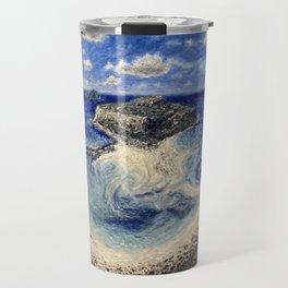 Balos Lagoon Crete Travel Mug
