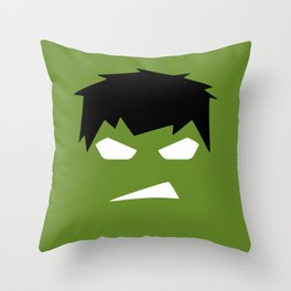 The Hulk Superhero Throw Pillow