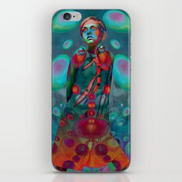 """Psychedelic Pop Fantasy"" (Twiggy) iPhone Skin"