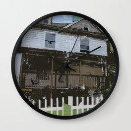 adams family house Wall Clock