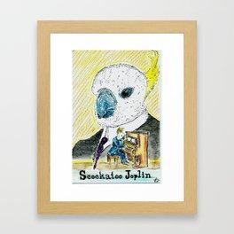 Scockatoo Joplin Framed Art Print