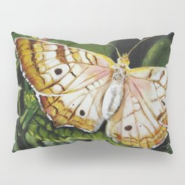 """Original Painting """"Butterfly Broadly"""" Pillow Sham"""