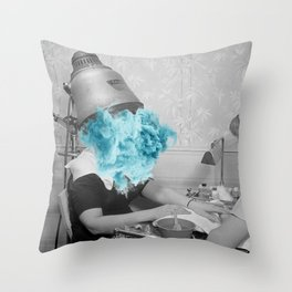 Suffering for Beauty Throw Pillow