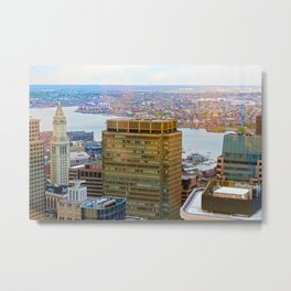 Custom House, Boston, MA Metal Print