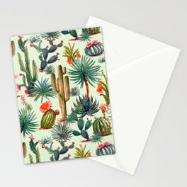 Cactus Patten Stationery Cards