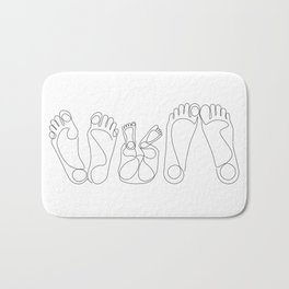 Family Bath Mat