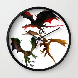 Fire and Blood, Mother of Dragons Wall Clock