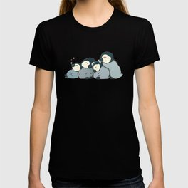 Pile of penguins T-shirt