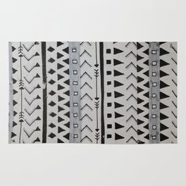 Gray Lines Rug