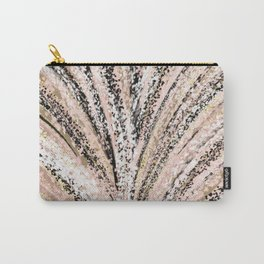 Rose Gold and Glitter Brushstroke Bursts Carry-All Pouch