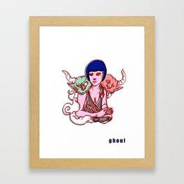 flapper h*ll Framed Art Print