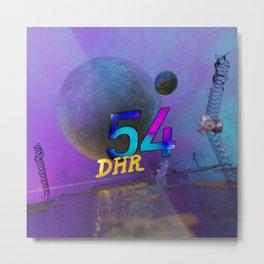 Space Ruin (DHR54) Metal Print