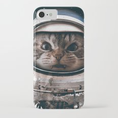 Space catet iPhone 7 Slim Case